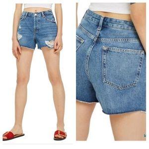 ❗️sale Topshop distressed ripped boyfriend shorts